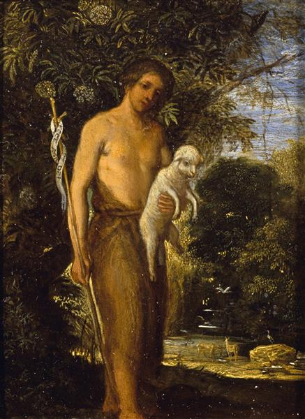 St John the Baptist, 1605 - Adam Elsheimer