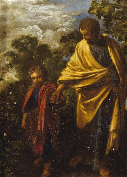 St Joseph and the Christ Child, 1605 - Adam Elsheimer