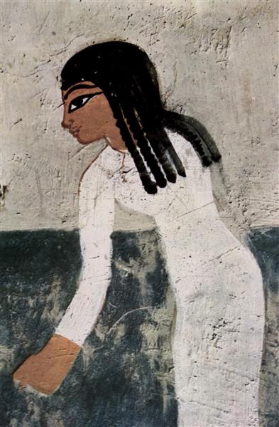 Flachsernte, Detail, c.1400 - c.1390 BC - Ancient Egypt