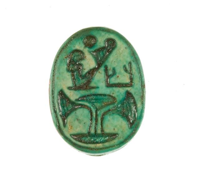 Scarab Inscribed with the Name Maatkare, c.1479 - c.1458 BC - Ancient Egypt