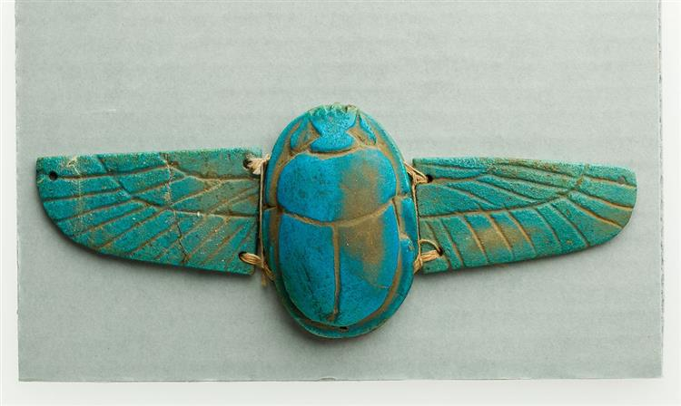 Winged Scarab, c.664 - c.332 BC - Ancient Egypt