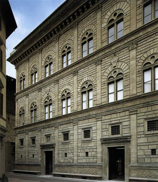 Via Della Vigna Nuova (Florence), 1446 - 1451 - Leon Battista Alberti