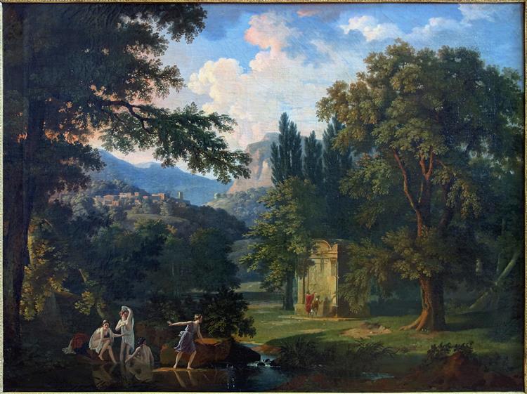 Paysage Historique, c.1800 - Pierre-Henri de Valenciennes