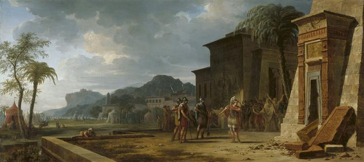 Alexander at the Tomb of Cyrus the Great - Pierre-Henri de Valenciennes