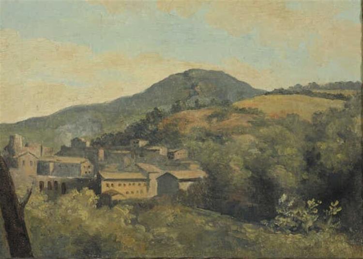 Italiaans Landschap - Pierre-Henri de Valenciennes