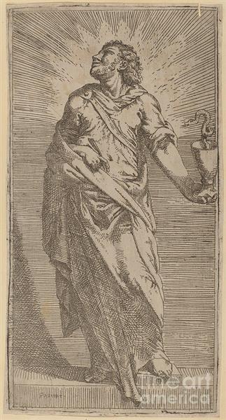 Saint John the Evangelist - Bartolomeo Passerotti