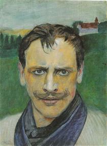 Auto-retrato - Harald Sohlberg