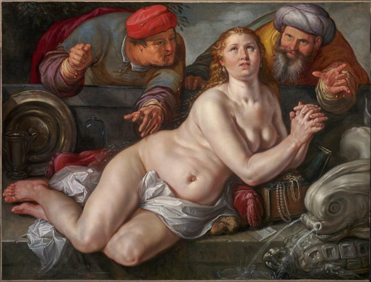 Susanna and the Elders, 1615 - Hendrick Goltzius