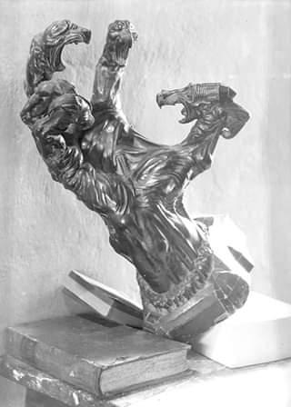 Struggle, 1917 - Stanisław Szukalski