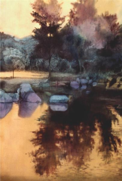 Landscape, c.1995 - Valeria Trubina
