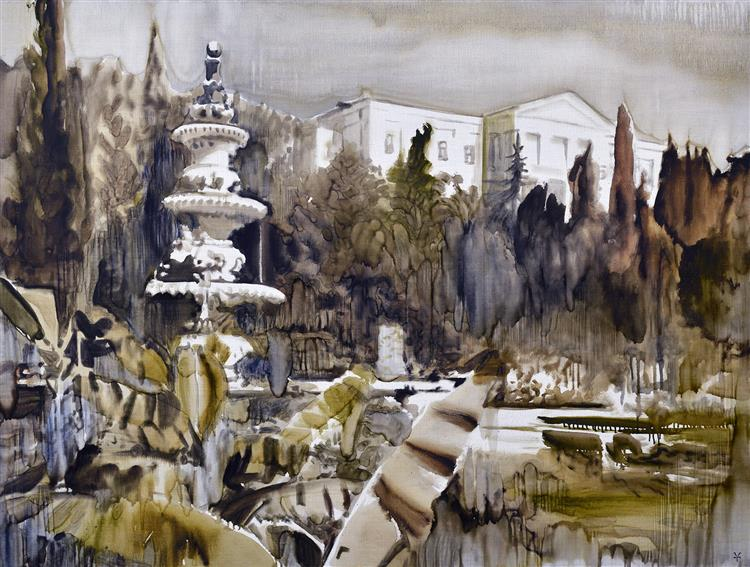 Old Fountain - Valeria Trubina