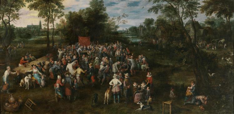 The Wedding Banquet - Jan Brueghel the Elder