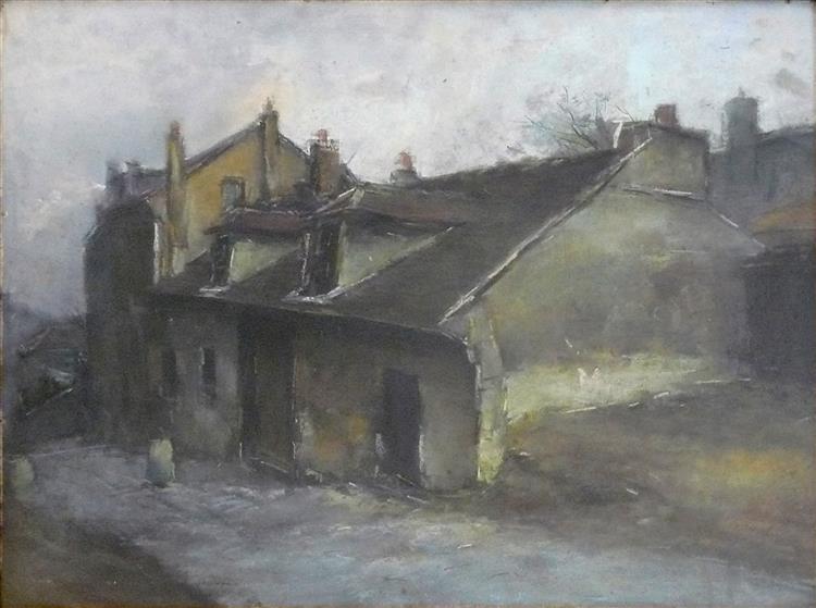 La Maison De Mimi Pinson À Montmartre, Paris - Pierre-Jacques Pelletier