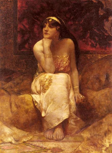 Queen Herodiade - Benjamin Constant