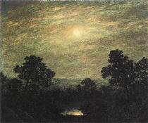 Brook by Moonlight - Ralph Blakelock
