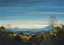 Early Morning in the Eifel Mountains - Werner Peiner