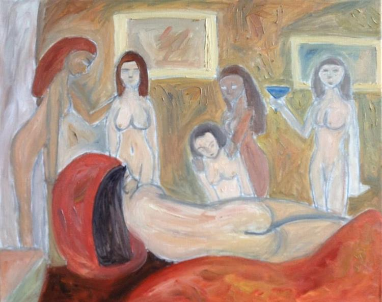 Nudes in the studio - Mihnea Cernat