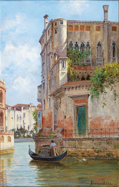 Palazzo, 1910 - Antonietta Brandeis