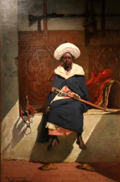 Le Caïd Marocain Tahamy - Benjamin Constant