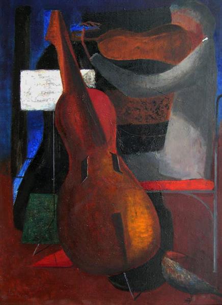 Musician, 1962 - Rudolf LÁNG