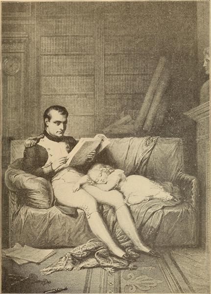 Napoleon and His Son - Charles de Steuben