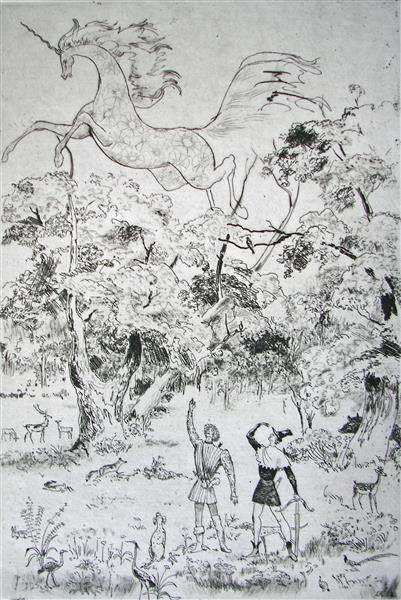 Unicornis, 1971 - Rudolf LÁNG