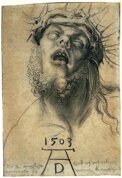 Self Portrait as a Dead Christ, Supposed Self Portrait, 1503 - Albrecht Durer