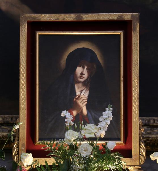 Madonna Annunciata - Giovanni Battista Salvi da Sassoferrato