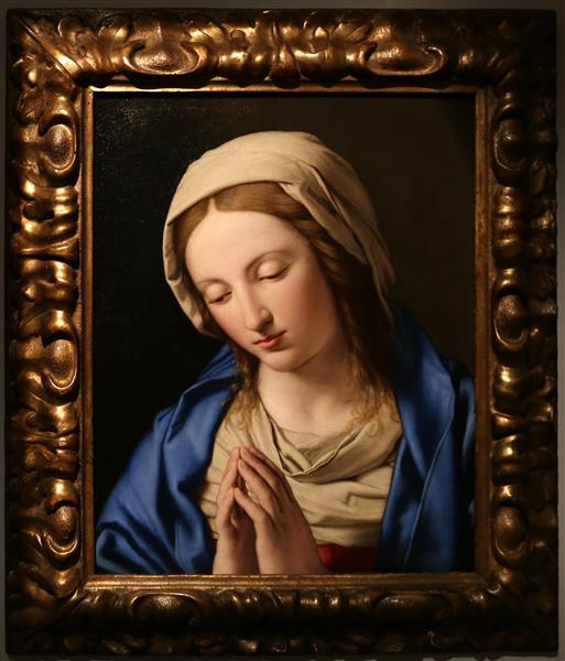 Madonna Orante - Giovanni Battista Salvi da Sassoferrato