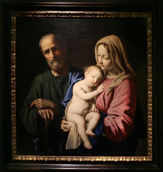 The Holy Family - Giovanni Battista Salvi