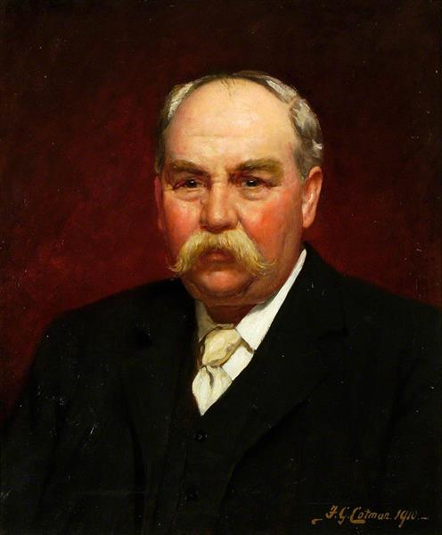 Frank Woolnough, Ipswich Museum Curator, 1910 - Frederick George Cotman
