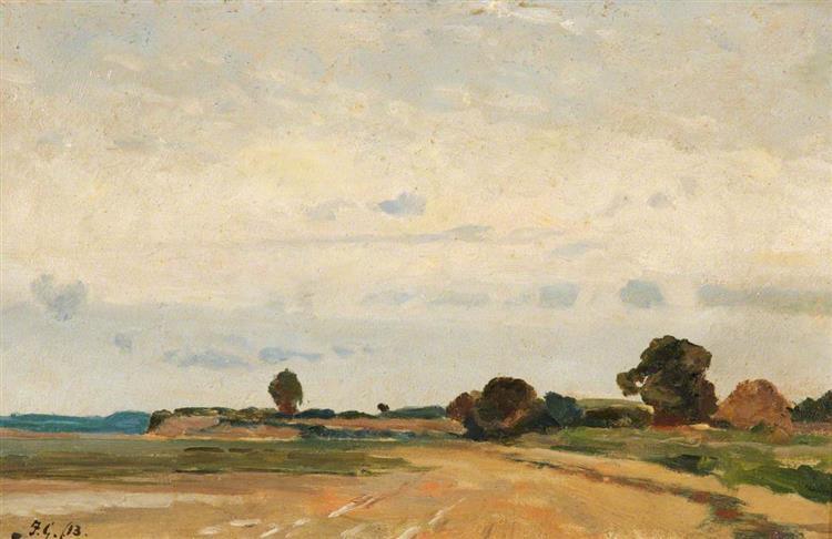 Stour River, 1913 - Frederick George Cotman