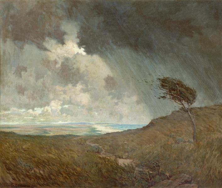 Coastal Storm - Granville Redmond