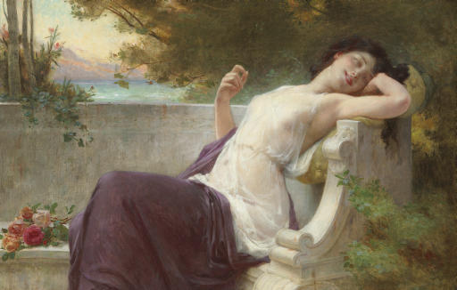 An Afternoon Rest - Guillaume Seignac