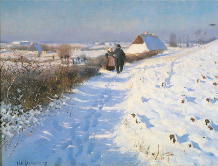 Winter - Hans Andersen Brendekilde