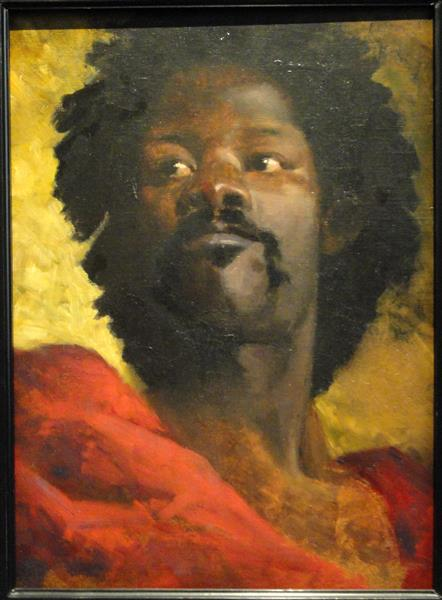 Head of a Moor by Henri Regnault, 1870 - Henri Regnault
