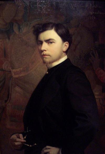 Portrait of Roger Portalis - Анри Реньо