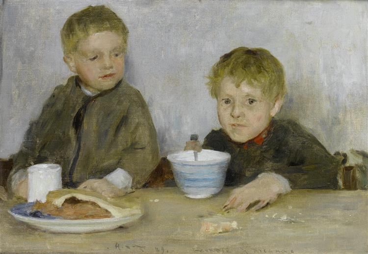 Georgie  and  Richard Fouracre, 1889 - Henry Scott Tuke