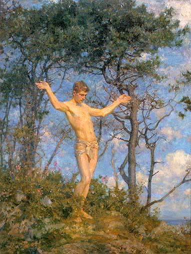 The Sun Worshipper (in the Morning Sun), 1904 - Henry Scott Tuke