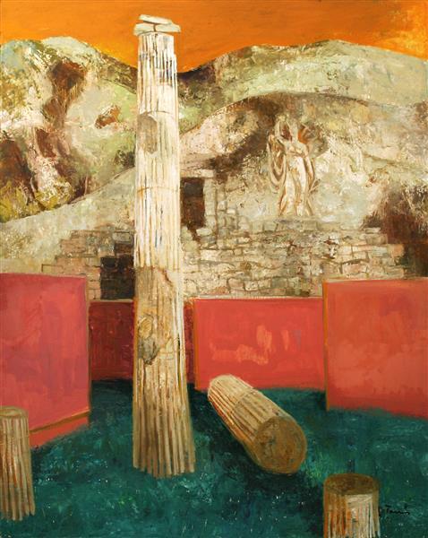 Greek Landscape, 1987 - TAMÁS, Ervin