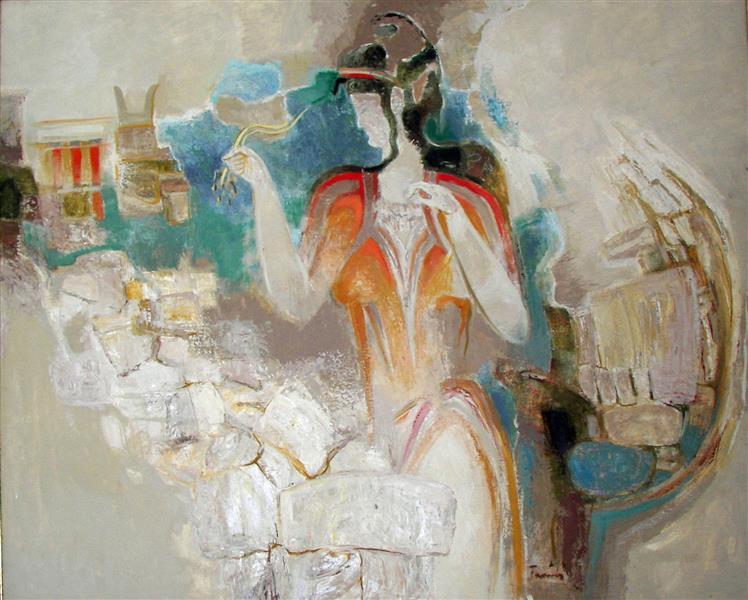 Crete, c.1989 - TAMÁS, Ervin