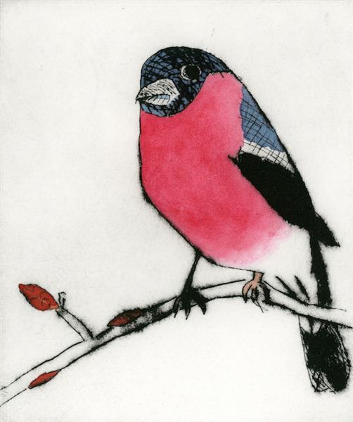Spring Bullfinch, 2015 - Richard Spare