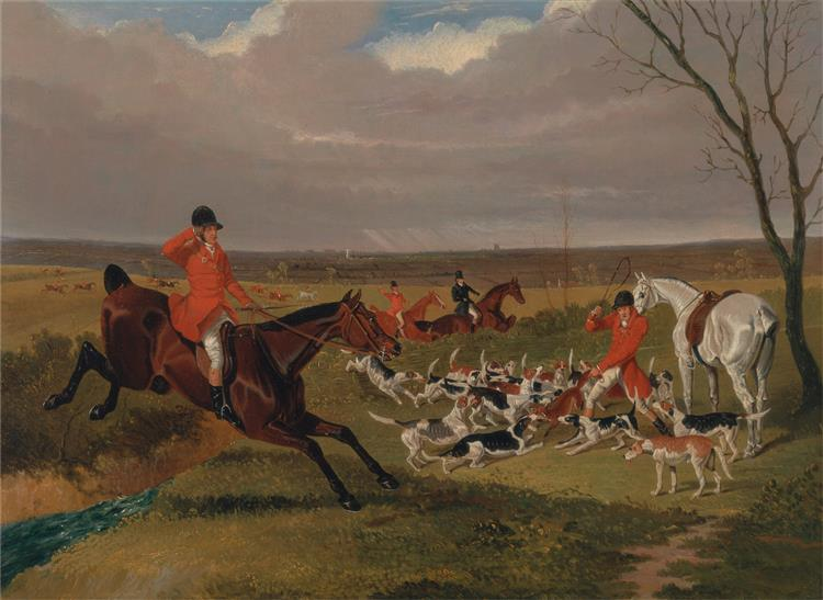 The Suffolk Hunt - The Death, 1833 - John Frederick Herring Sr.