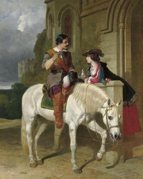The Rose, 1853 - John Frederick Herring Sr.