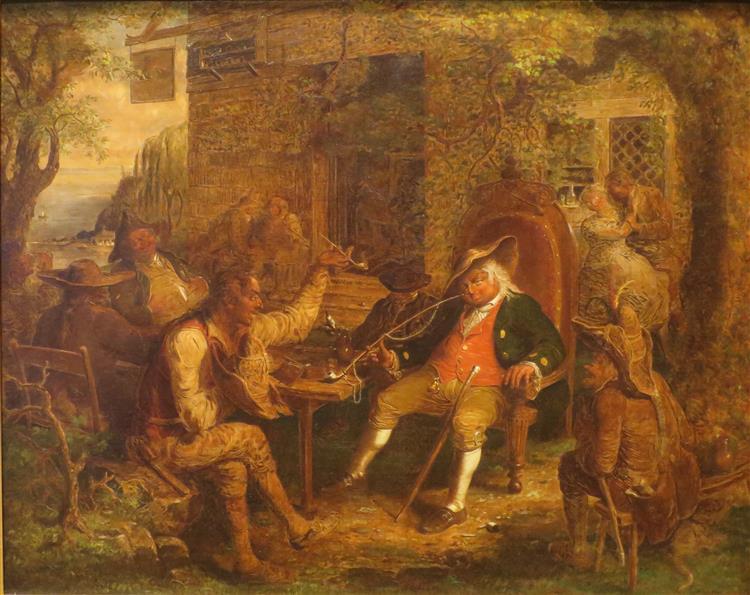 Wolfert Webber at the Inn (wolfert Webber's Golden Dream), 1857 - John Quidor