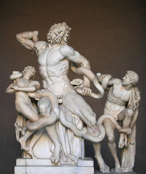 Laocoon and his Sons, c.125 BC - Ancient Greek Painting and Sculpture