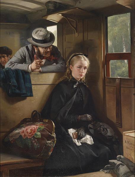 Der Lästige Kavalier - Berthold  Woltze