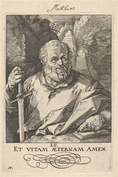 St. Matthias, c.1589 - Hendrick Goltzius