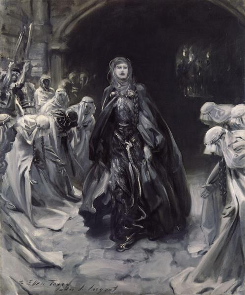 Ellen Terry as Lady Macbeth, 1906 - John Singer Sargent