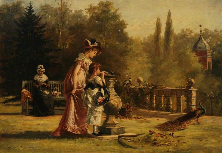 Life is Like a Sundial, 1878 - Laslett John Pott